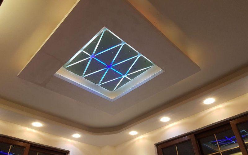 نورپردازی انواع سقف خانه