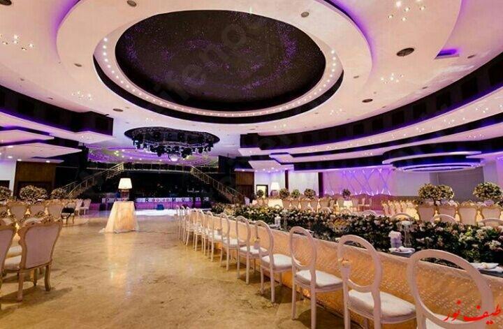 طراحی انواع نورپردازی هوشمند تالار