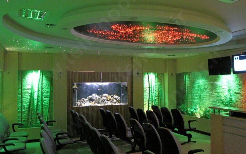 نورپردازی سالن های همایش یا کنفرانس