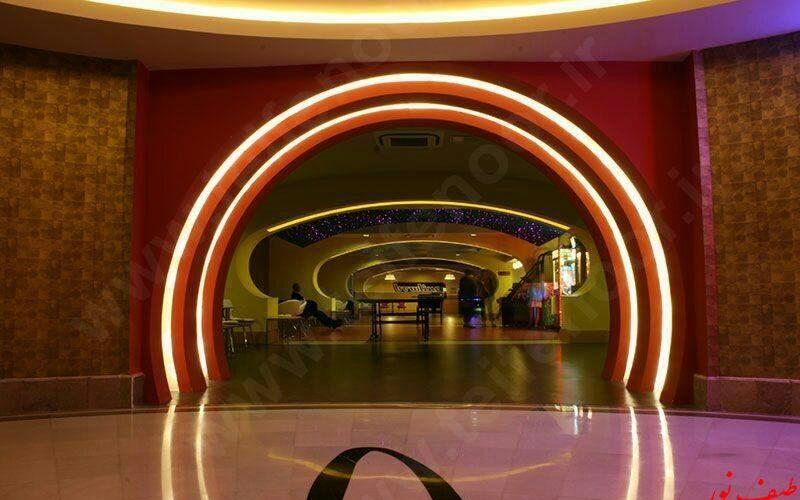 نورپردازی لابی هتل های مجلل